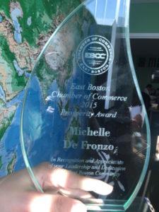 East Boston Chamber of Commerce 2015 Prosperity Award