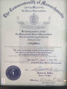 The Commonwealth of Massachusetts The House of Representatives Citation